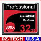 New 32GB CF CompactFlash Compact Flash Memory Card 300X 300 X 45MB/S
