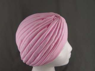 Light Pink pastel Hair wrap Turban NEW womens head cap hat