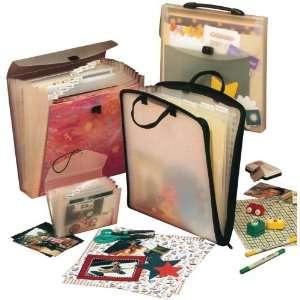 Cardinal Brands 85562 Scrapfolio Expandable Storage Case