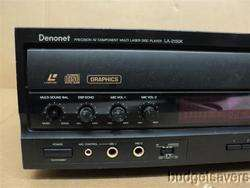 Denon LA 2150K Karaoke Multi Laser MLD Laserdisc LD Player