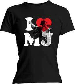 MICHAEL JACKSON I Love MJ Junior S M L XL Shirt NEW