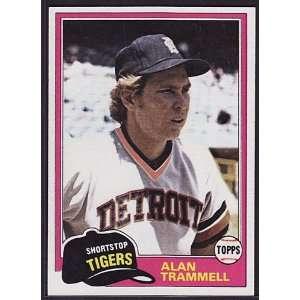 1981 Topps #709 Alan Trammell