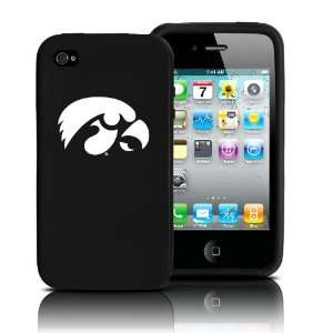 Iowa Hawkeyes iPhone 4 and 4S Case Silicone Cover  Sports