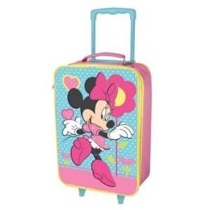 Minnie Mouse DISNEY KIDS Trolley Bag Luggage Wheeled Suitcase NEW