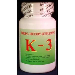 K 3 Herbal Dietary Supplements: Health & Personal Care