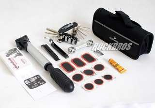 ROSWHEEL Bike Repair Tool Bag Tire Tool Mini Pump