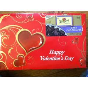 Whitmans Valentines Day Sampler Dark Chocolate Assorted, 12 Ounce Box
