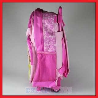 16 Disney Princess Rolling Backpack Roller/Girls/Bag