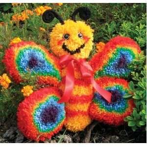 Huggables Animal Butterfly Latch Hook Kit: Arts, Crafts