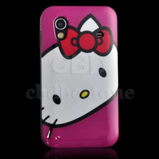 Hello Kitty Hard Rubber Case Samsung Galaxy Ace S5830