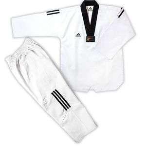 TAEKWONDO UNIFORM TKD DOBOK 3 STRIPES martial arts uniform