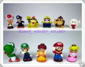 Nintendo Super Mario Bros Mini Cute 11p Figures