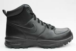Nike Manoa ACG All Black Mens All weather Leather Classic Rugged Boots