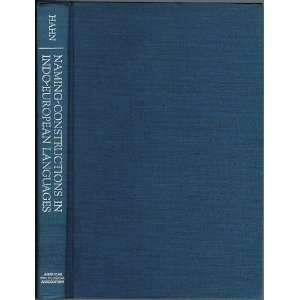 Some Indo European Languages (Philological Monographs of the American