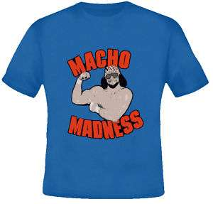 Macho Man Randy Savage Retro T Shirt