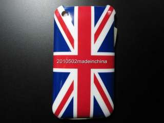 UK united kingdom Flag Hard Case Skin Cover For Apple iPhone 3G 3GS