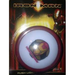 Marvel Iron Man Push Light Toys & Games
