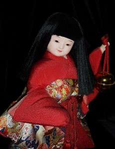 is for a Old Ceramic Japanese Doll Beautiful Dancing Doll Figure