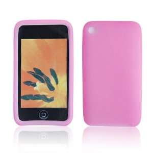Silicone Case Cover for Apple iPod Touch 4 Pink J14 Electronics