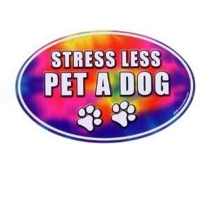 Kyjen MA00326 Stress Less   Pet A Dog Magnet