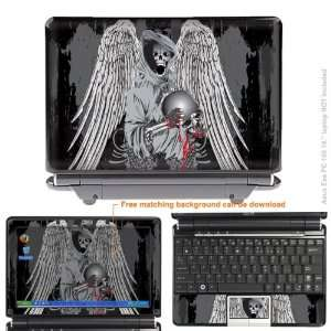 Protective Decal Skin Sticker for ASUS Eee PC 1000 with 10