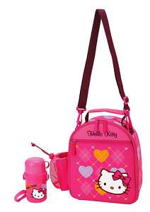 NEW SANRIO HELLO KITTY LUNCH BAG W/ BOTTLE JUNE 2011