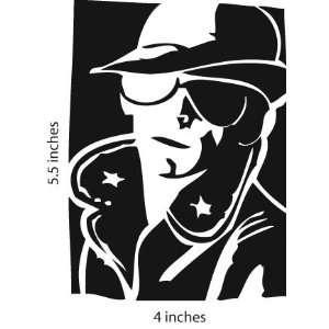 LOU Reed Velvet Underground Sticker Cut Vinyl Decal