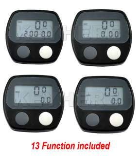 LCD Bike Bicycle Cycling Computer Odometer Speedometer