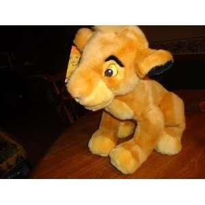 The Lion King Plush 14 Young Simba