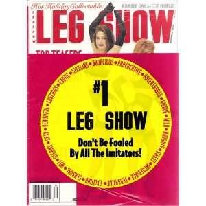 Leg Show Magazine Decembe 1999: LEG SHOW: Books