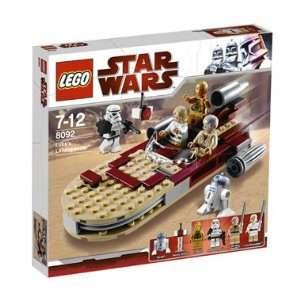 Lego Star Wars Lukes Landspeeder 8092 Toys & Games