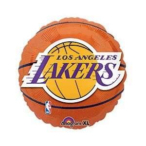 Los Angeles Lakers NBA Basketball Logo 18 Mylar Balloon