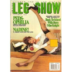 LEG SHOW MAGAZINE SEPTEMBER 1993: Books