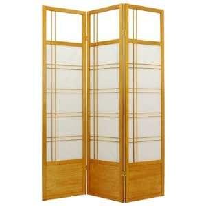 Oriental Furniture Kumo Classic Shoji Room Divider in Honey SSCKMO