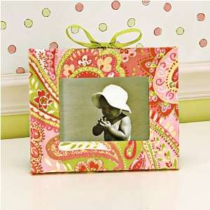 Girls Study Time Paisley Picture Frame