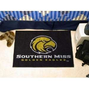 Southern Miss Mississippi Golden Eagles Starter Rug/Carpet Welcome
