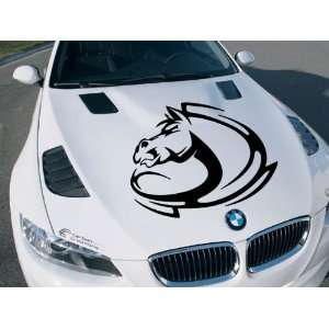 Mustang Shelby Ford Gt Cobra Tribal Horse Cute Animal Hood