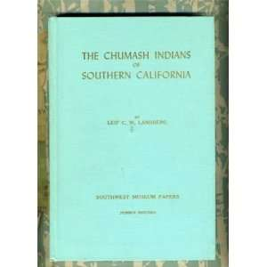 The Chumash Indians of Southern California.: Books