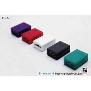 Firestone Audio Fireye Mini Headphone Amplifier in Purple: Electronics