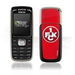 Design Skins for Nokia 1650   1. FCK Logo Design Folie