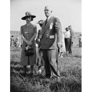 ca. 1938 Gov. & Mrs. James Price of VA