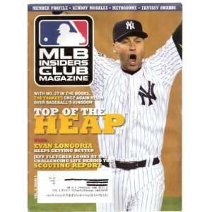 MLB Insiders Club Magazine Volume 3 Number 1 Issue 7, Top of the Heap