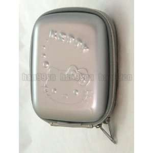 Hello Kitty Silver Digital Camera Case Pouch Bag
