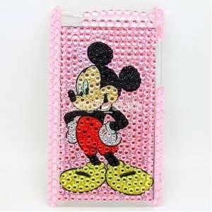 Micky Mouse Diamond Bling Hard Case Cover Skin for Apple