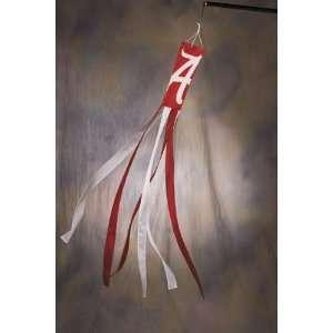 ALABAMA CRIMSON TIDE Wind Socks Set of 2