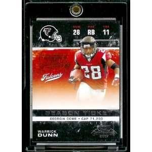 com 2007 Playoff Contenders # 6 Warrick Dunn   Atlanta Falcons   NFL
