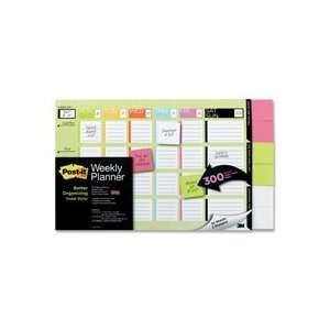 x2 Super Sticky Notes,18x12,Clr Block Qty6