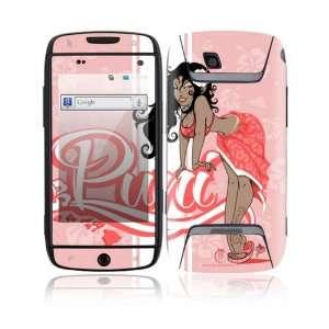 Sidekick 4G Decal Skin Sticker   Puni Doll Pink
