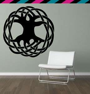 Celtic Knot Tree of Life Root Branches Wall decal