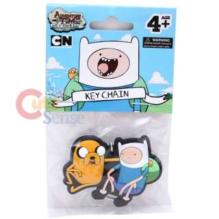Adventure Time Finn & Jake Rubber Key Chain : Licensed